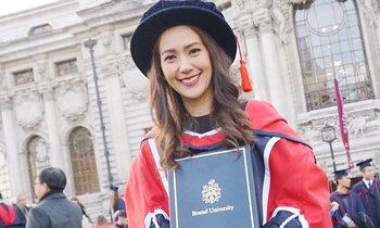 แมทธิว ดีน สุดภูมิใจน้องสาวคนสวย เรียนจบดอกเตอร์จากอังกฤษ