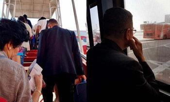 แชร์สนั่น ผบ.ทบ.ถือกระเป๋าขึ้นเครื่องบินโลว์คอสต์ ลงใต้ให้กำลังใจทหาร