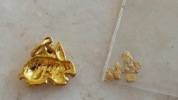 ร้านทองเช็กแล้ว ทองที่หนุ่มราชบุรีร่อนเจอจากคลองชลประทานเป็นทองแท้