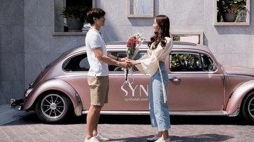 """แฟนคลับแทบลุ้น """"น้ำตาล"""" เผยโมเมนต์น่ารักของ """"ไผ่ พาทิศ"""" แซวสนั่นนึกว่าขอแต่งงาน"""