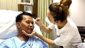 """""""จ๊ะ นงผณี"""" ดูแลไม่ห่าง เล่าเหตุการณ์ วันนี้พ่อลุกขึ้นมาถาม มาอยู่โรงพยาบาลกี่เดือนแล้ว"""