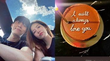 """""""ริชชี่"""" อวยพรวันเกิด """"ก็อต"""" I will always love you ข้อความที่หวานกว่าเค้กหลายเท่า"""