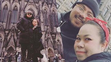 รักไม่จืด ตุ๊กกี้ ฉลองรักบูบู้ 12 ปี ควงเที่ยวต่างประเทศ