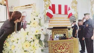 สุดเศร้า เมย์ มาริษา สูญเสียคุณพ่อ จัดงานศพสมเกียรติทหารอเมริกัน
