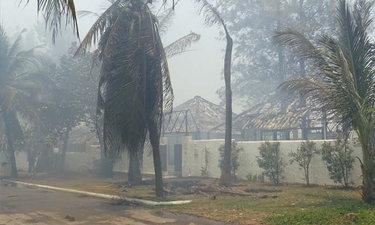ไฟไหม้รีสอร์ตดังหัวหิน เพลิงเผาพูลวิลล่าหรูวอด เสียหายมากกว่า 10 ล้าน