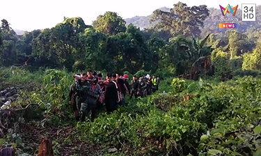 พ้นจากเหว! กลุ่มนักท่องเที่ยวรุกเขตป่าปรับ 500 บาท เผยนาทีพลาดตกเขา
