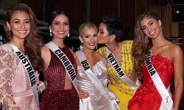 """ชาวเน็ตสะใจ! แก๊ง Mean Girls ตกรอบมิสยูนิเวิร์ส ขณะที่ """"นางงามเวียดนาม"""" เข้ารอบ 5 คนสุดท้าย"""