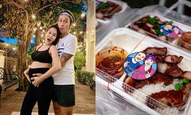 """""""ก้อย-ตูน"""" ส่งข้าวกล่องและกล่องยังชีพแจกให้ชุมชนทุกวัน ต่อเนื่อง 2 อาทิตย์"""