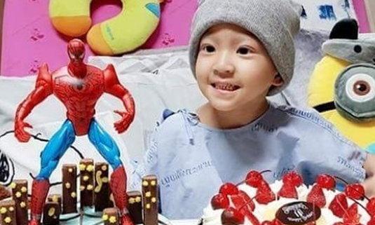 น้องสกาย ฉลองวันเกิดอายุ 3 ขวบ แม้ยังต้องรักษาโรคมะเร็ง