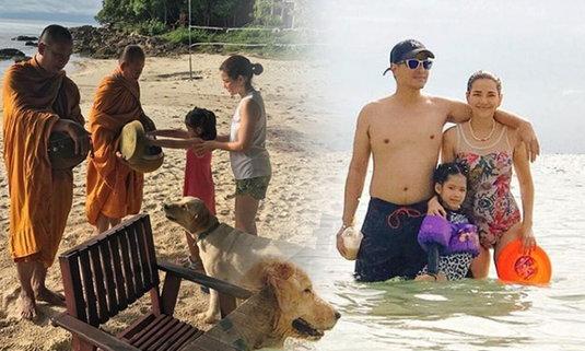อ้อม พิยดา ยกครอบครัวเที่ยวเกาะ คุณแม่ซ่อนความแซ่บ