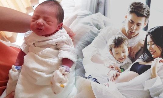จอห์น วิญญ ได้ของขวัญสุดพิเศษ ภรรยาคลอดลูกชายคนที่ 2 ในวันเกิด
