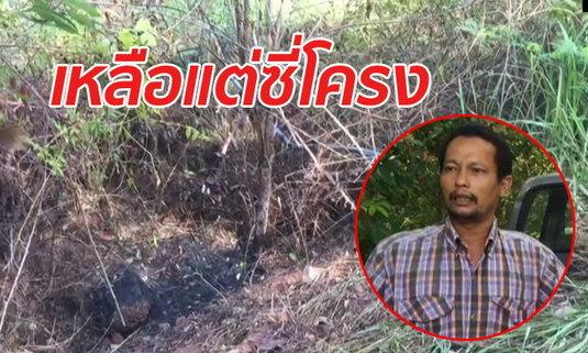 คืบคดีสาว 18 ถูกเผาหลังหายตัวจากบ้านสามี พ่อเลี้ยงสงสัยเครื่องในศพหายไปไหน