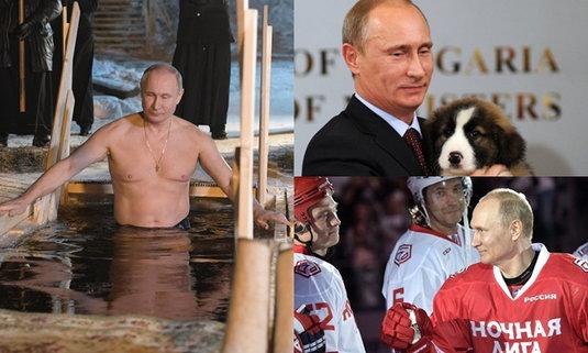 """สาวญี่ปุ่นแห่ซื้อปฏิทิน """"ผู้นำรัสเซีย"""" มีรูปเปลือยท่อนบน ยอดขายแซงดาราดังในประเทศ"""