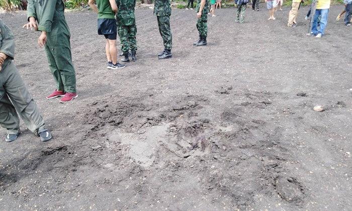 สลด ทหารฝึกกระโดดร่มแต่ร่มไม่กาง ร่างกระแทกพื้นเสียชีวิต
