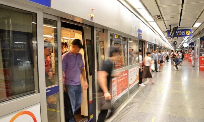 รฟม.เปิดทดลองรถไฟฟ้าสายสีน้ำเงินเพิ่มอีก วิ่งไปถึงสถานีบางหว้า