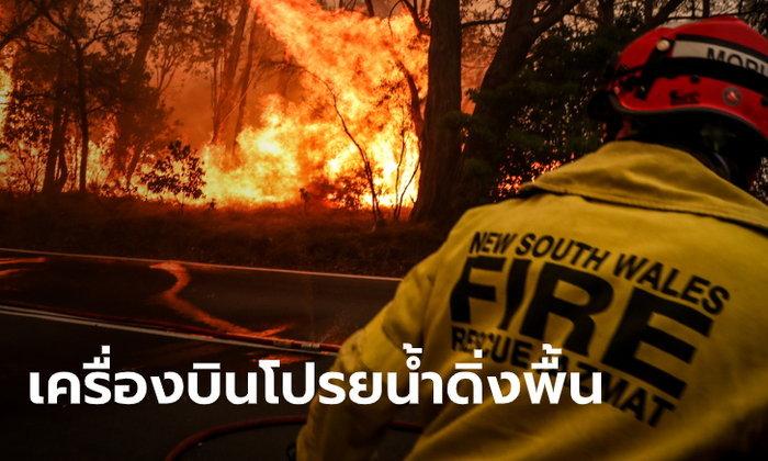 ดับเพลิงมะกัน ตาย 3 ศพ ขณะสู้ไฟป่าออสเตรเลีย หลังเครื่องบินโปรยน้ำดิ่งพื้น