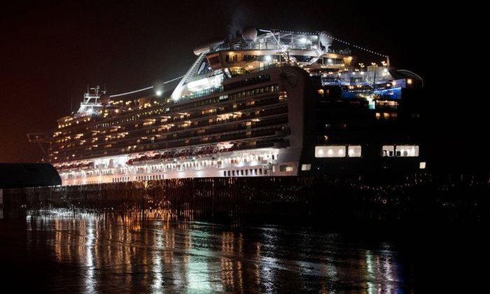 ไวรัสโคโรนา: ชาวอเมริกันบางส่วนบนเรือ