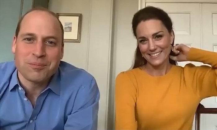 เจ้าชายวิลเลียม-เคท ทรงวิดีโอคอลคุยกับลูกๆ ของบุคลากรทางการแพทย์