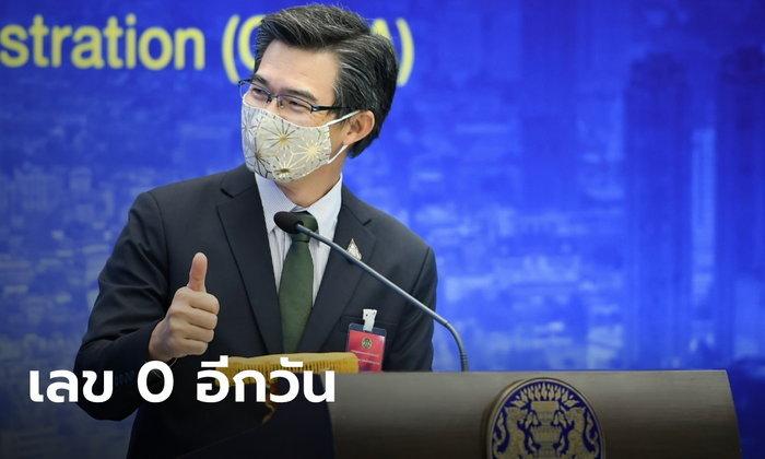 เป็น 0 อีกวัน! ศบค.แถลง วันนี้ไทยไม่พบผู้ติดเชื้อ และเสียชีวิตจากโควิด-19 เพิ่ม