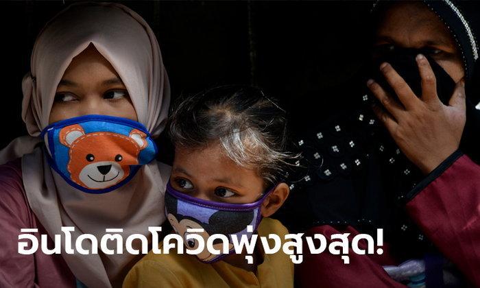 อินโดนีเซีย ติดโควิด-19 เพิ่มเกือบ 1,000 สูงสุดตั้งแต่ระบาด ดันยอดสะสมเกิน 20,000 ราย