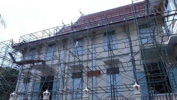 ก่อสร้างโรงเรียนพระปริยัติธรรม (แฟ้มภาพ)