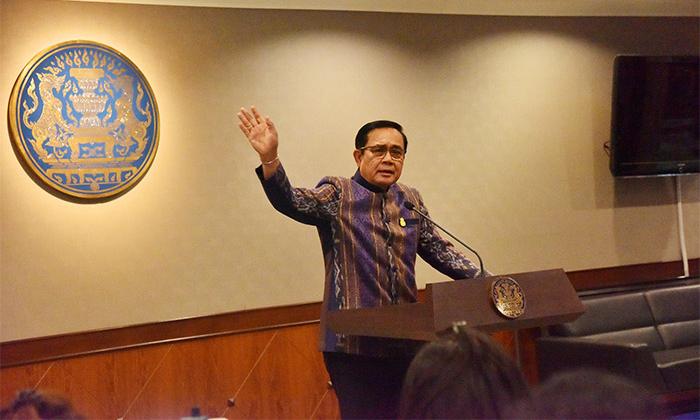 """นายกฯ แต่งกลอน """"ประชารัฐ ไทยนิยม"""" อีกรอบหวังปลุกคนไทยพัฒนาชาติ"""
