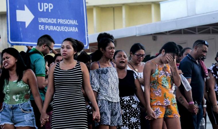 เรือนจำบราซิลป่วน นักโทษฆ่ากันเองดับหมู่อย่างน้อย 40 ศพ ในคุก 4 แห่ง