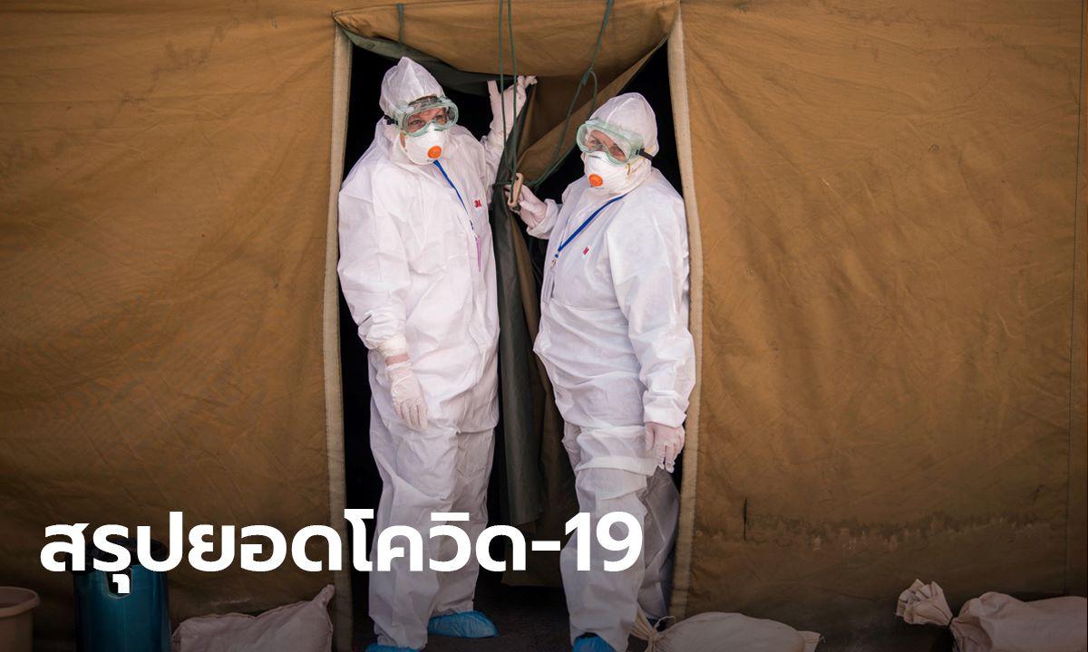 อัปเดตโควิด-19 ล่าสุด ยอดผู้ป่วยสะสมทะลุ 1,349,000 เสียชีวิต 74,820 รายทั่วโลก