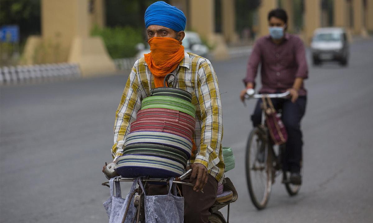 ทุบสถิติ! อินเดียพบป่วยโควิด-19 ทะลุ 6,000 ราย ในวันเดียว