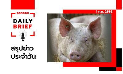 Sanook Daily Brief สรุปข่าวประจำวัน 1 ก.ค. 63