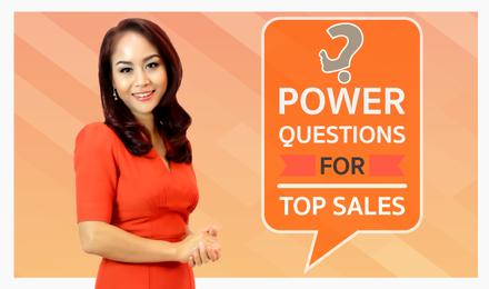 Power Questions :: เบิ้ลยอดขาย สไตล์เซล์ซุปเปอร์สตาร์