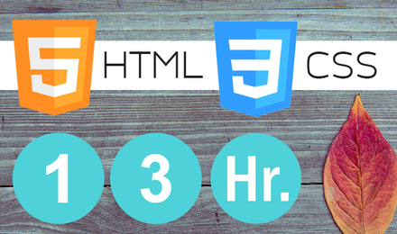 HTML5+CSS3 in 13 hours! พร้อมการใช้งาน CSS Framework