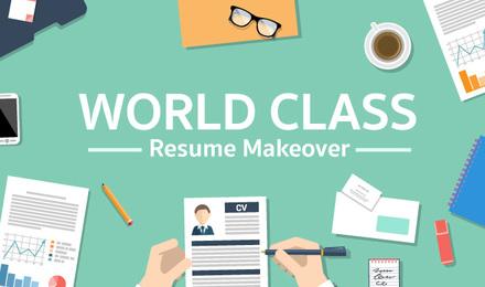 World Class Resume Makeover ทำเรซูเม่ให้ปัง โดนใจผู้จ้างงาน