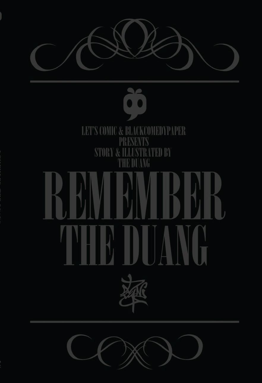 Remember The Duang - รวมผลงานและความทรงจำของนักวาดการ์ตูนนามว่า The Duang