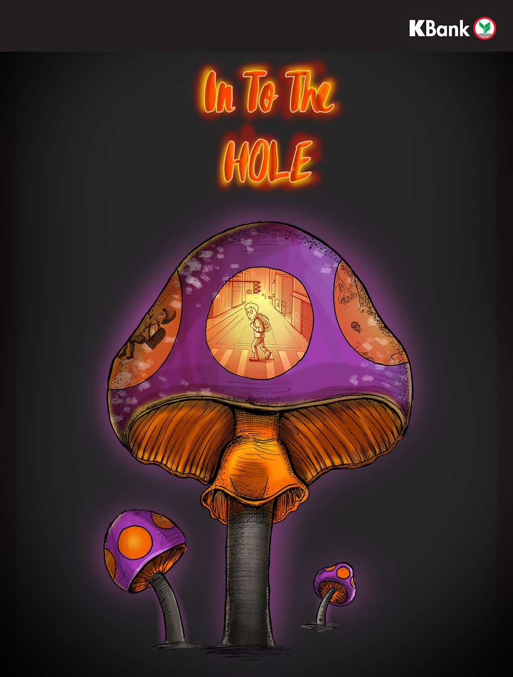 IN TO THE HOLE (KBank Comics Contest)