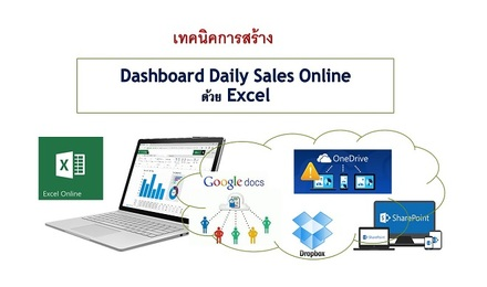 เทคนิคการสร้าง Dashboard Daily Sales Online ด้วย Excel