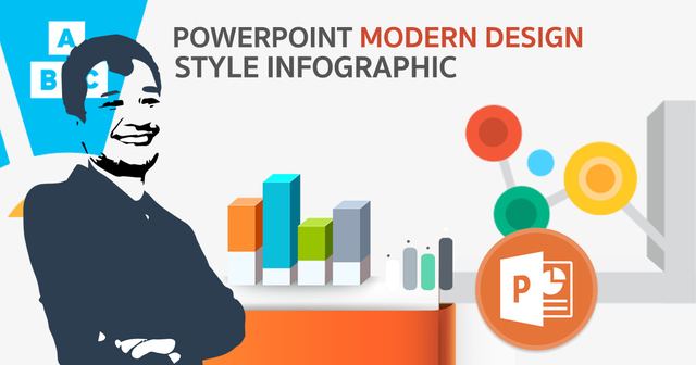 PowerPoint Modern Design Style Infographic