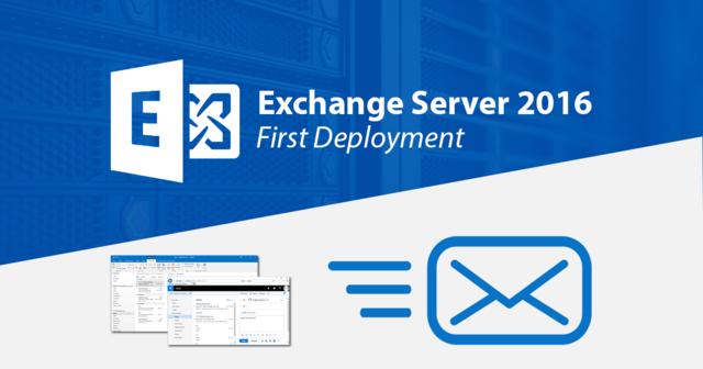 สร้างอีเมลเซิร์ฟเวอร์ด้วย Exchange Server 2016