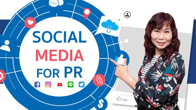 Social Media for PR สื่อสังคมออนไลน์กับงานพีอาร์