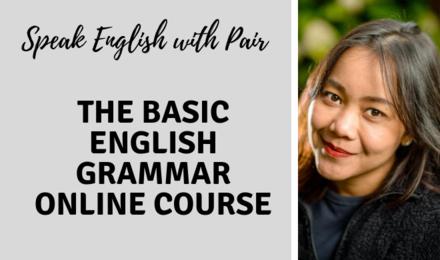 The Basic English Grammar Online Course