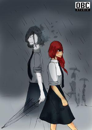 ฟ้าหม่น...ในวันที่ฝนพรำ (ผีรักทุกนาเธอ คอนเทสต์)