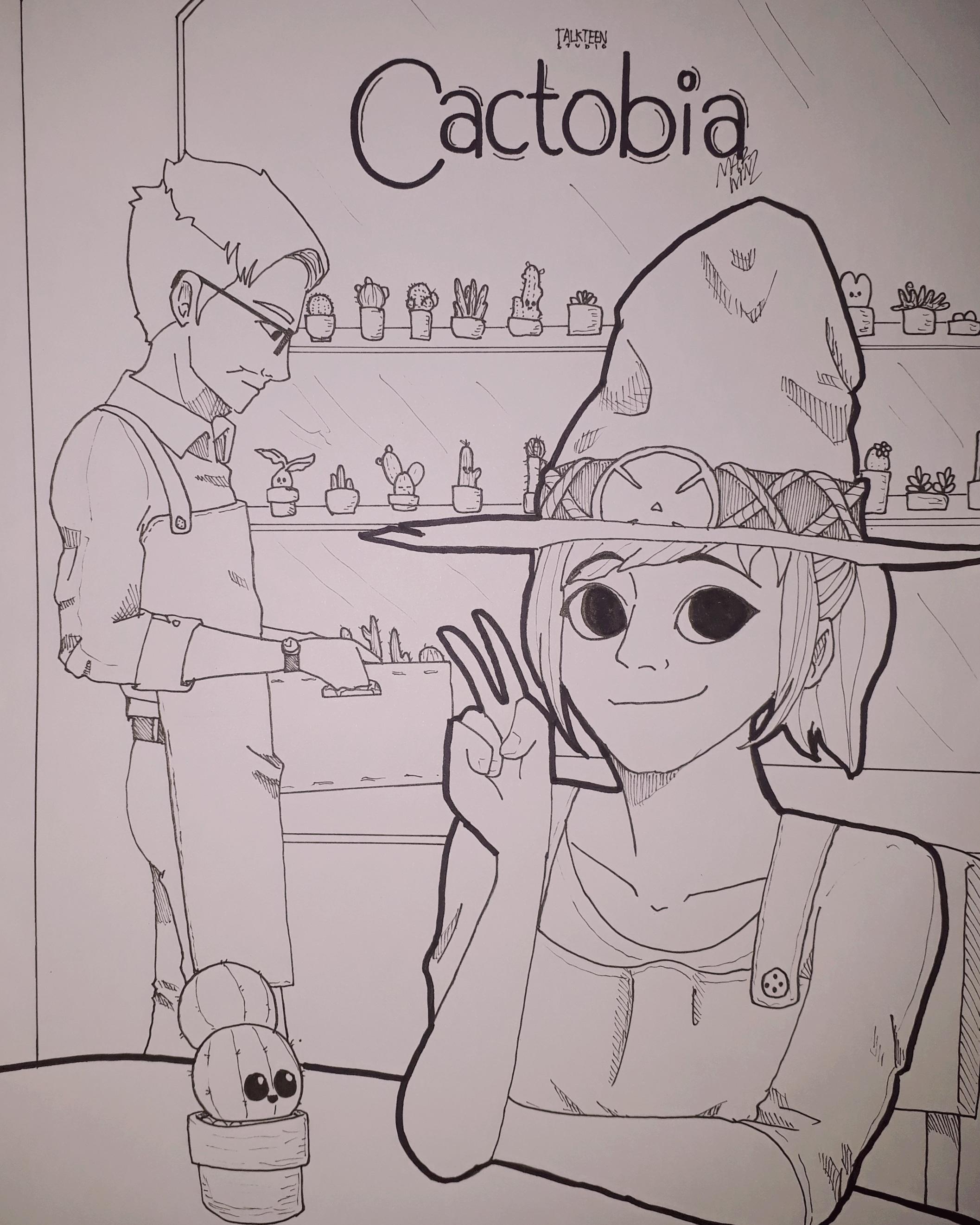 Cactobia ผู้วิเศษแห่งพฤกษา