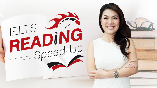 IELTS Reading Speed-Up