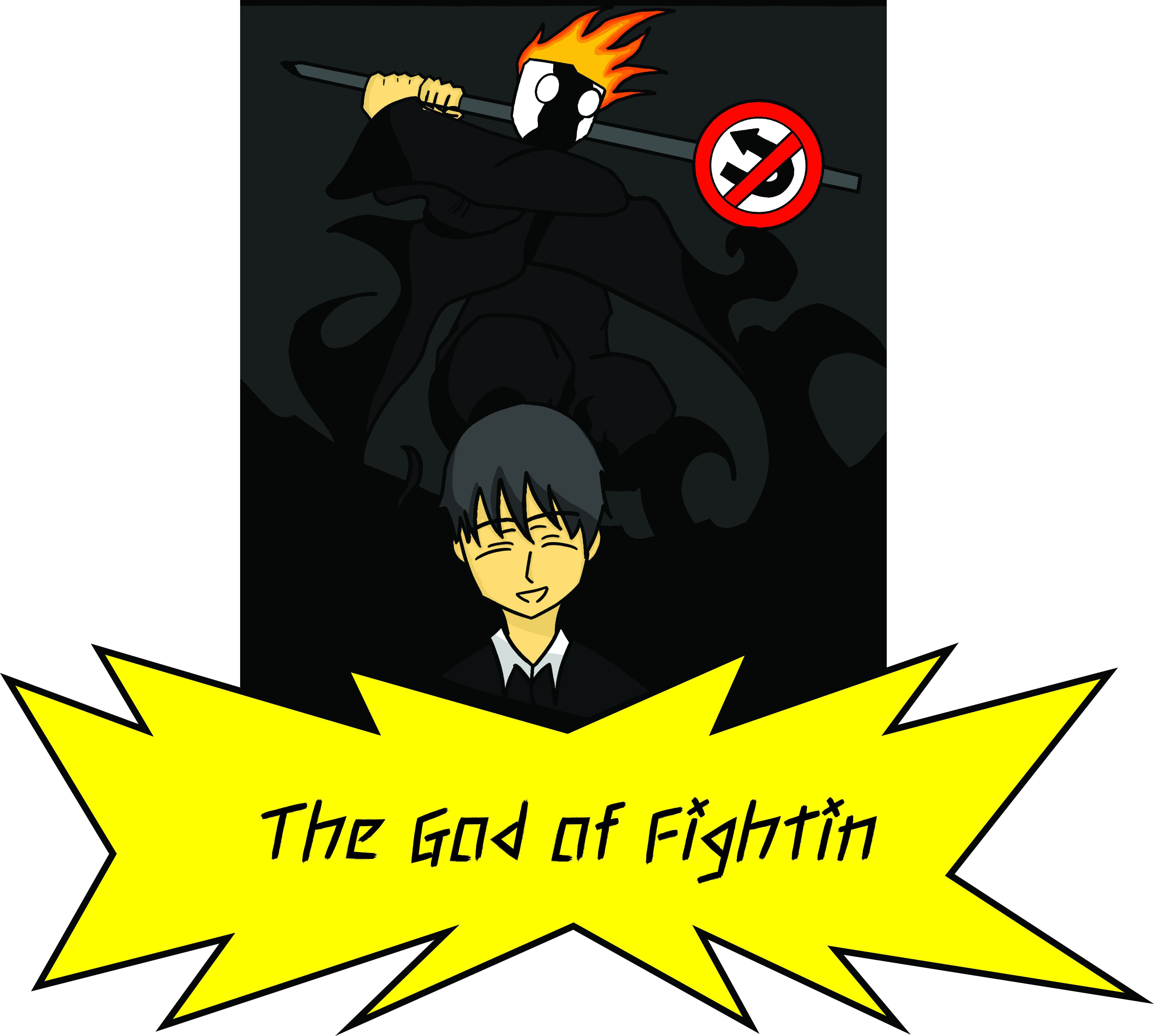 THE GOD OF FIGHTIN