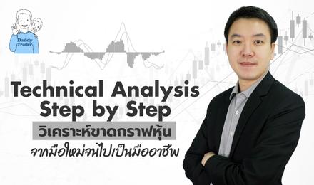 Technical Analysis Step by Step วิเคราะห์ขาดกราฟหุ้น จากมือใหม่จนไปเป็นมืออาชีพ