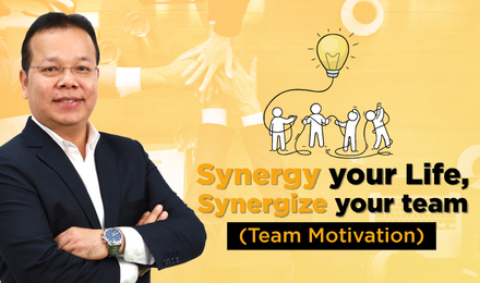Synergy your Life, Synergize your team (Team Motivation)