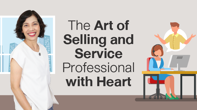 The Art of Selling and Service Professional with Heart