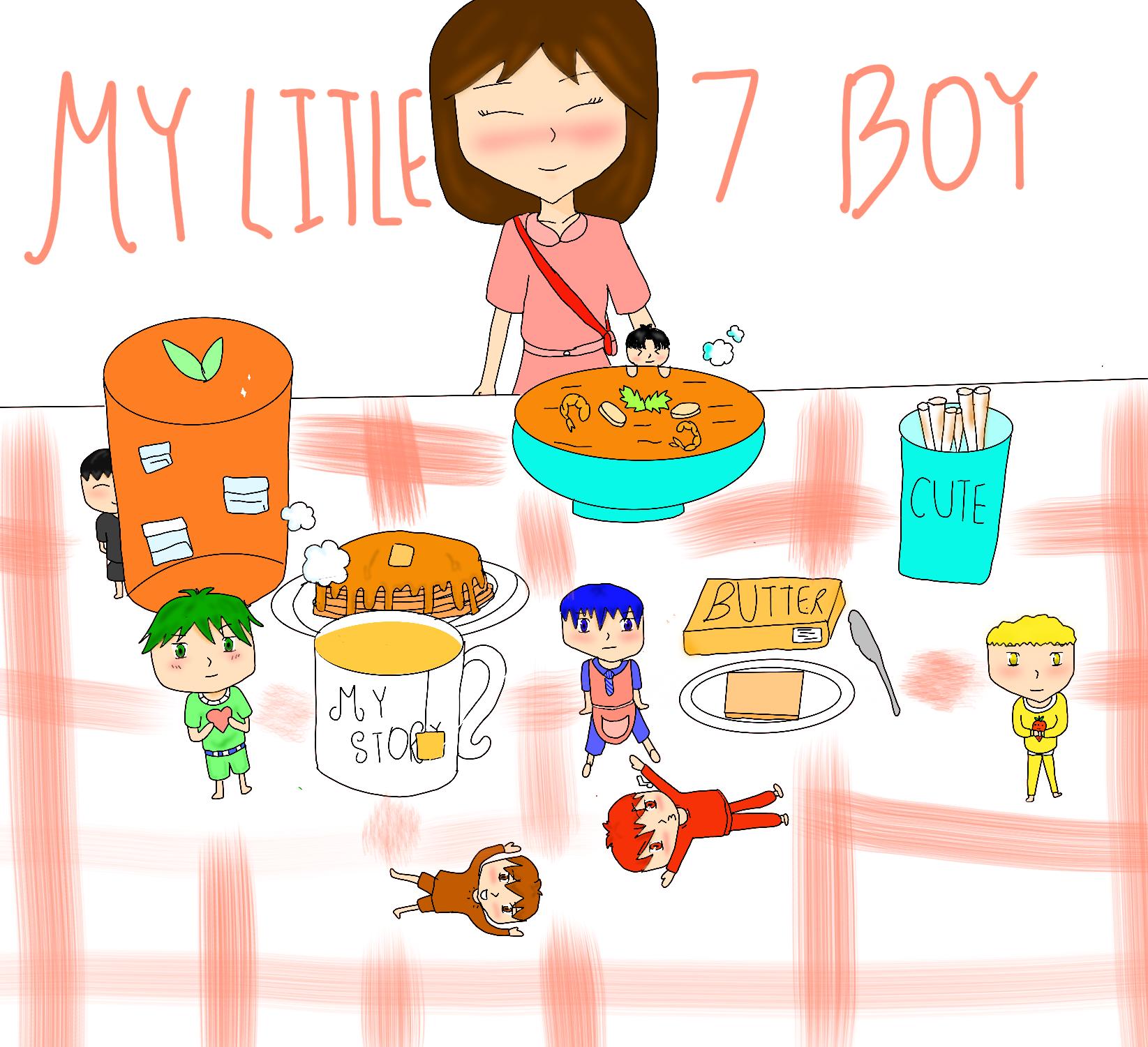 My Little 7 Boys