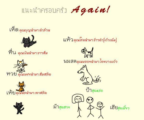 แนะนำตัว - Again
