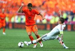 ประมวลภาพ ฮอลแลนด์ แพ้ เดนมาร์ก 0-1